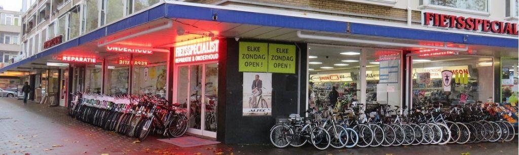 fietsenwinkel rotterdam slinge
